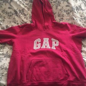 Pink GAP hoodie